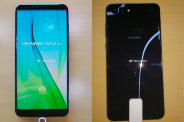 Новые фотографии ихарактеристики Huawei Nova 2S