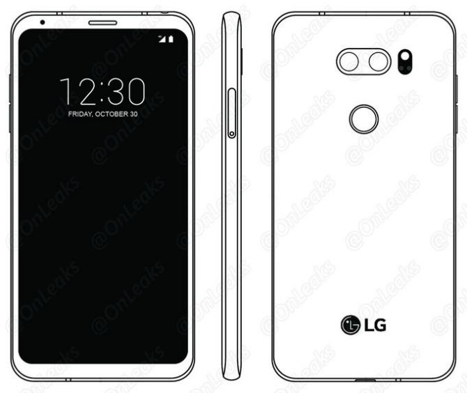 LGV30 будет первым телефоном отпроизводителя сOLED FullVision Display