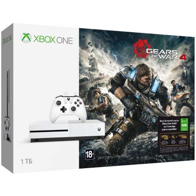 Xbox One Sна1 Тбпоступила вреализацию в РФ