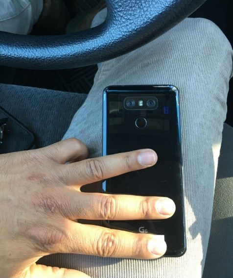 Флагманский смартфонLG G6 появился на«живых» фото