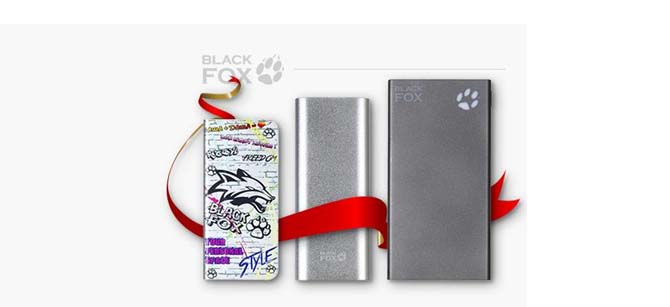 Power Bank Black Fox