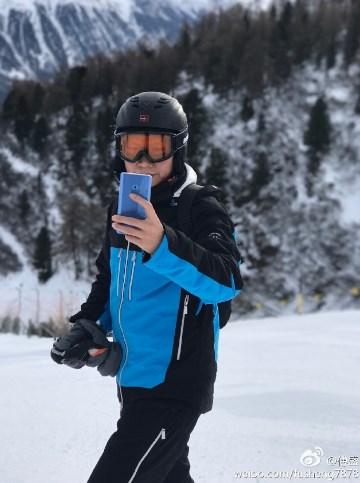 Xiaomi Mi Note 2 в голубом цвете