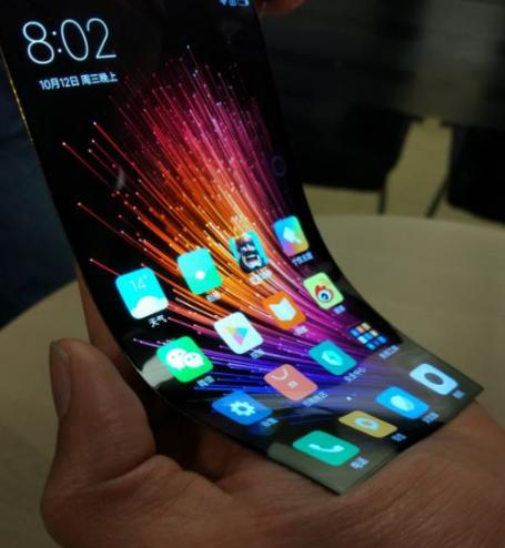 Гибкий дисплей Xiaomi