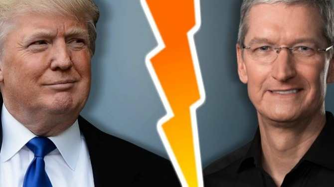 Apple vs Trump