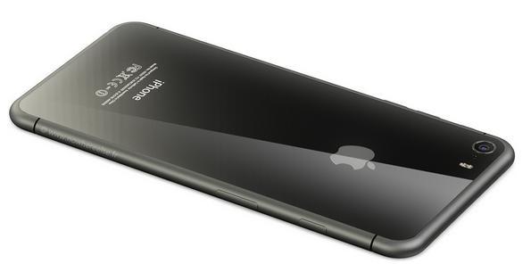 стеклянный айфон