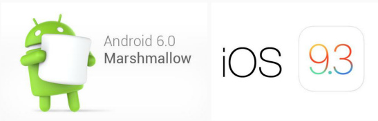 Marshmallow vs iOS 9.3