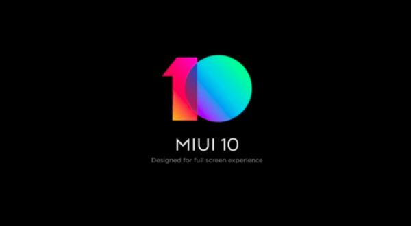 MIUI 10 Public Beta