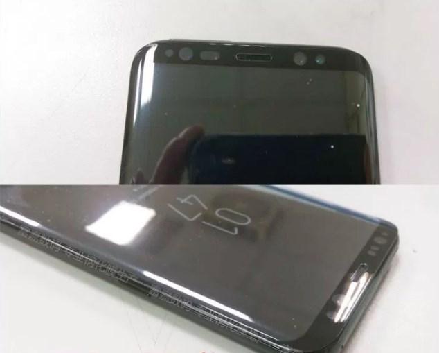 Вглобальной паутине появились живые фото Самсунг Galaxy S8