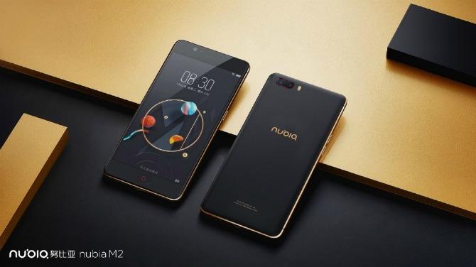 ZTE представила Android-смартфон Nubia M2 сдвойной основной камерой