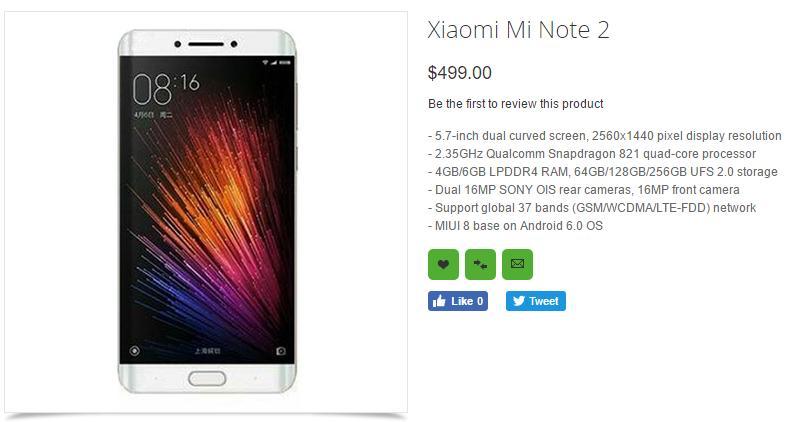 Xiaomi Mi  <a href=