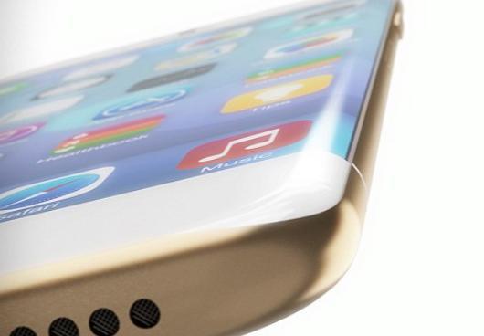 iPhone 8 изогнутый