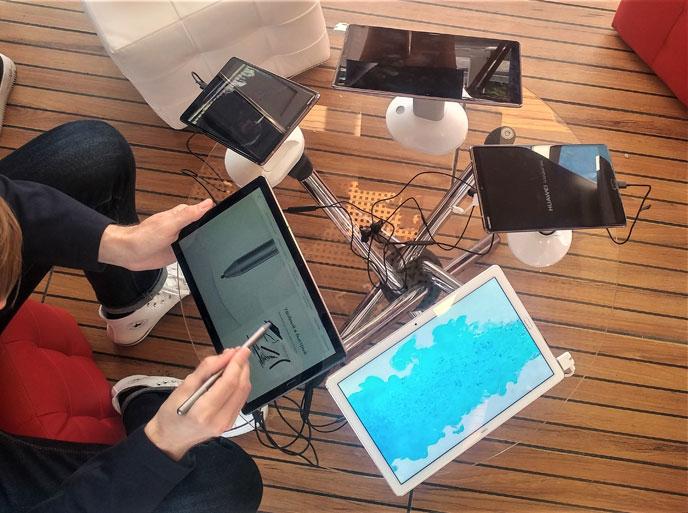 Huawei представила в Москве планшеты MediaPad M5