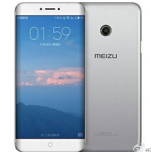 Появились свежие рендеры Meizu Pro 7 сизогнутым дисплеем