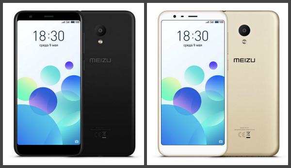 В Российской Федерации прошла премьерная презентация телефона Meizu M8c