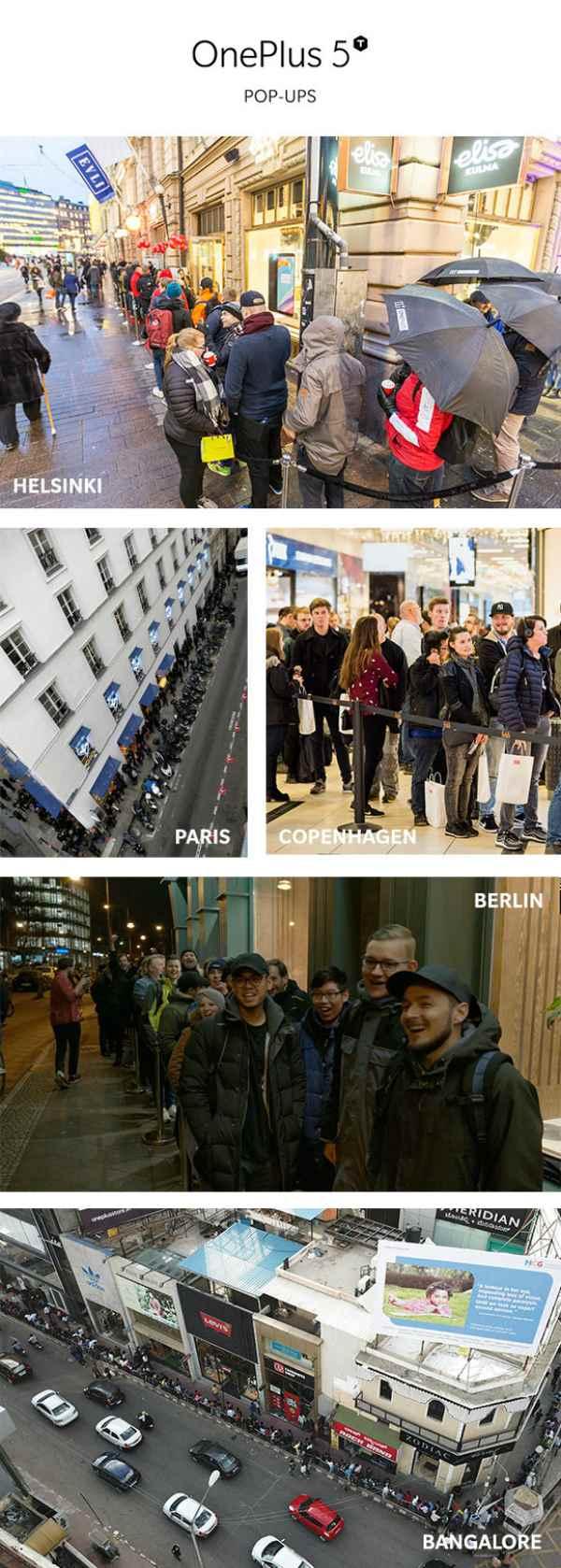 очередь за OnePlus 5T