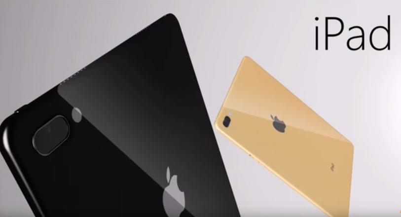 Презентован концепт-кар безрамочного iPad Pro