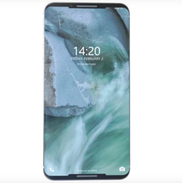 Вглобальной сети появился концепт-кар флагманского телефона LGG7