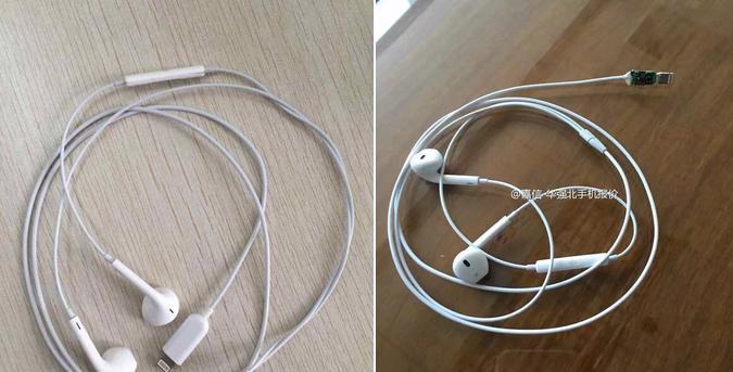 НаWeibo появились новые фотографии наушников EarPods сконнектором Lightning