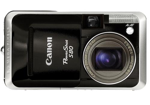 Блиц-обзор Canon PowerShot S80