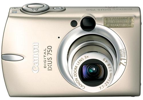 Блиц-обзор Canon IXUS 750