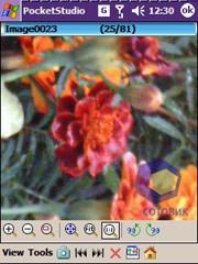 Скриншоты BenQ P50