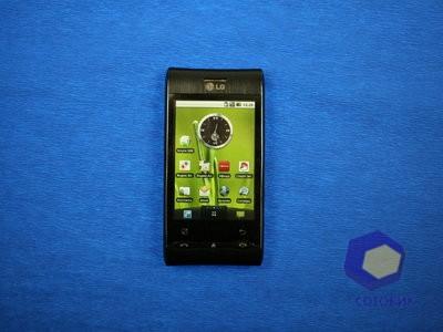 Обзор LG Optimus_GT540