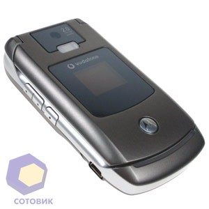 Обзор Motorola RAZR V3x