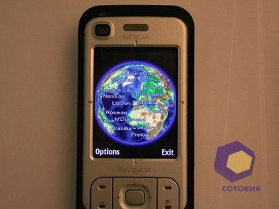 Обзор Nokia 6110_Navigator