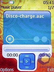 Скриншоты Nokia 7373