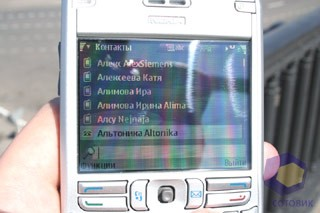 Фото Nokia E61 и Qtek 8300