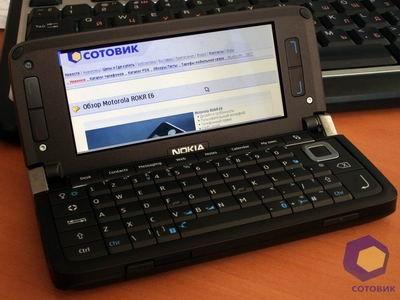 Обзор Nokia E90