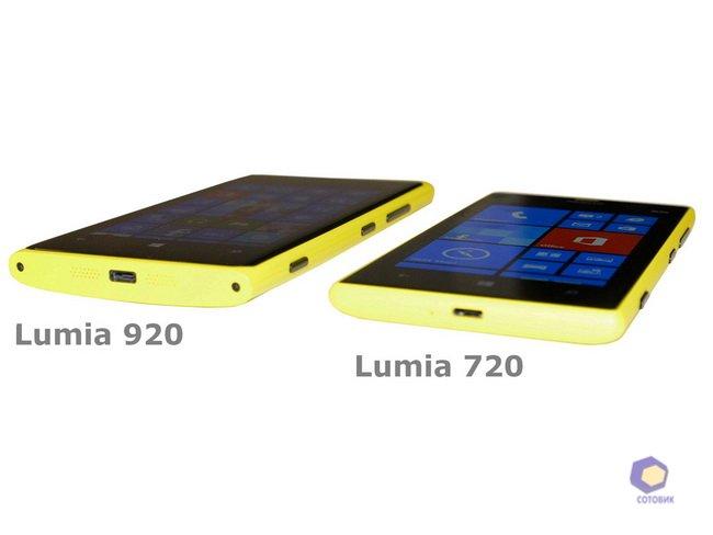Фотографии Nokia Lumia720_520