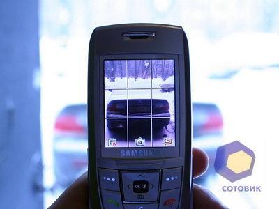 Обзор Samsung E250