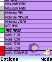 Скриншоты Samsung SGH-D730