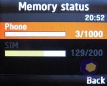 Скриншоты Samsung U100