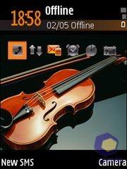 Скриншоты Samsung i520
