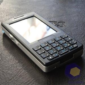 Ввод текста в Sony Ericsson M600