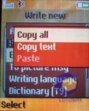 Скриншот SonyEricsson W300i