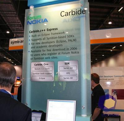 Carbide на выставке Symbian Expo 2005