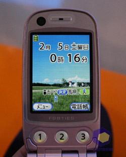 Foma F888i на выставке Symbian Expo 2005