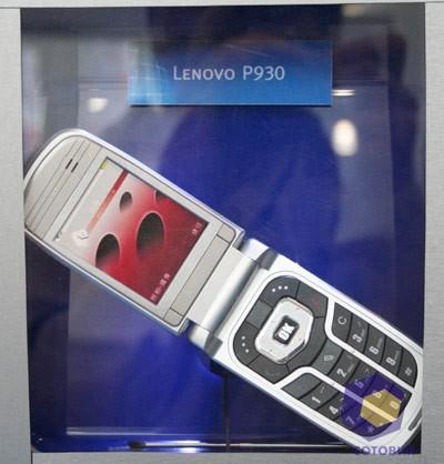 Lenovo P930 на выставке Symbian Expo 2005