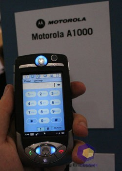 Motorola A1000 на выставке Symbian Expo 2005