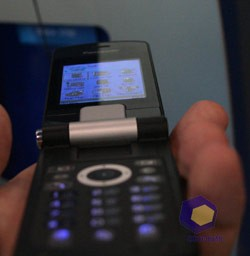 Panasonic X800 на выставке Symbian Expo 2005